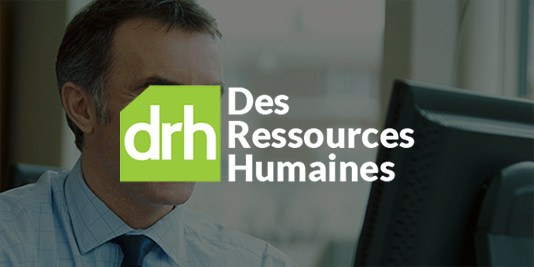 B2B web design for DRH, an outsourcing firm